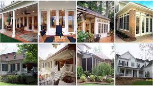 Difference Between a Screened Porch and a Sunroom